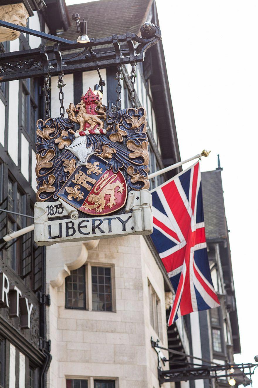 The beautiful Liberty department store