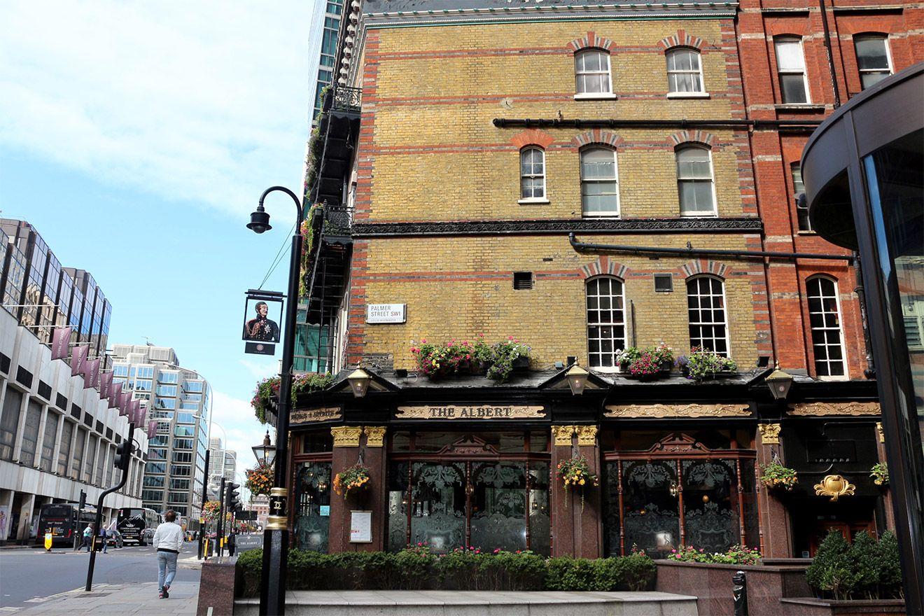 The Prince Albert Pub in London