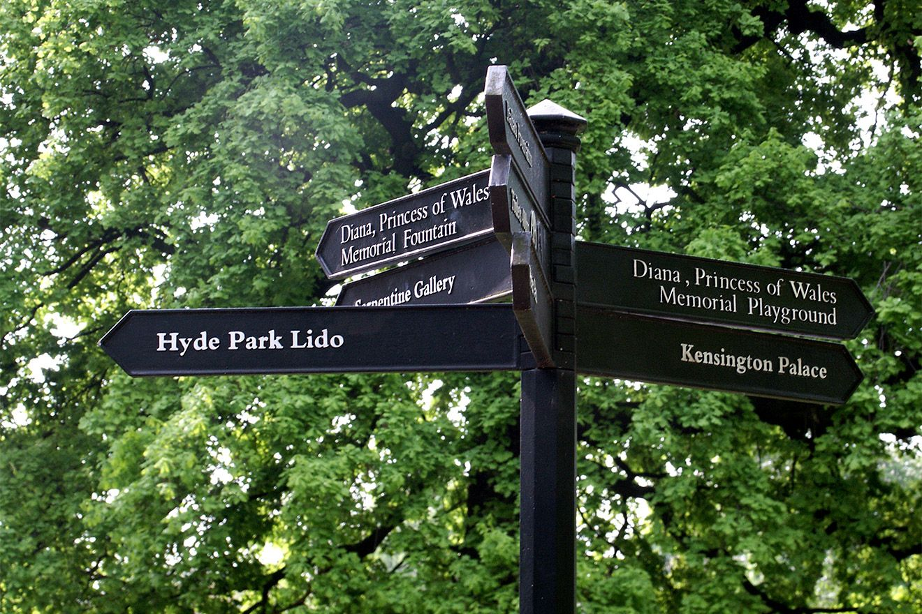 You'll love relaxing in the beautiful Hyde Park