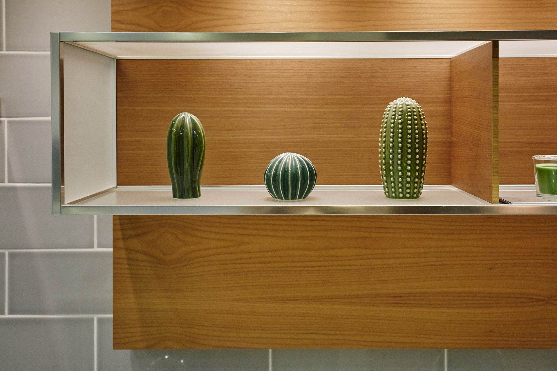 Cactus sculptures in the Danebury vacation rental offered by London Perfect
