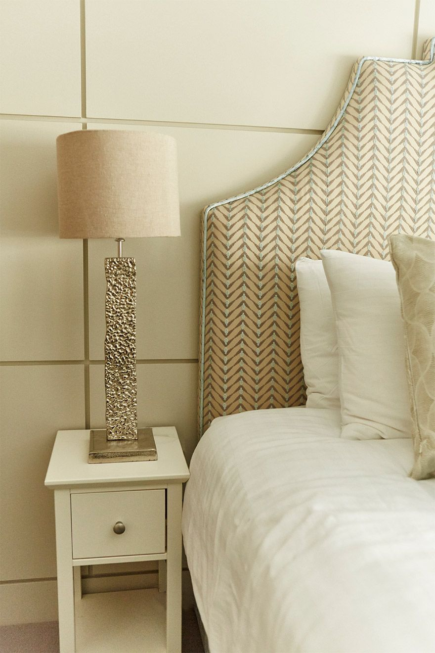 Charming bedside table in the Danebury vacation rental offered by London Perfect