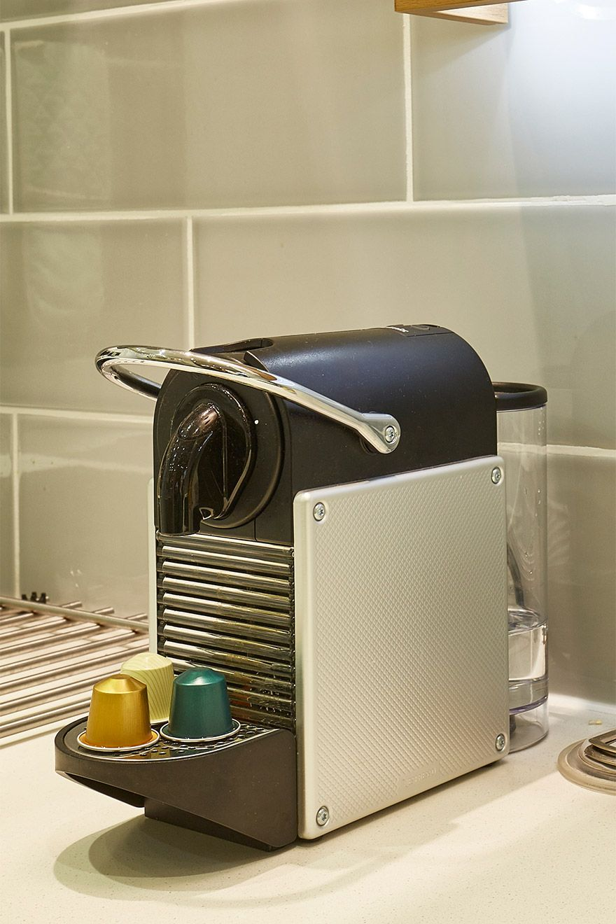 Nespresso machine in the Danebury vacation rental offered by London Perfect
