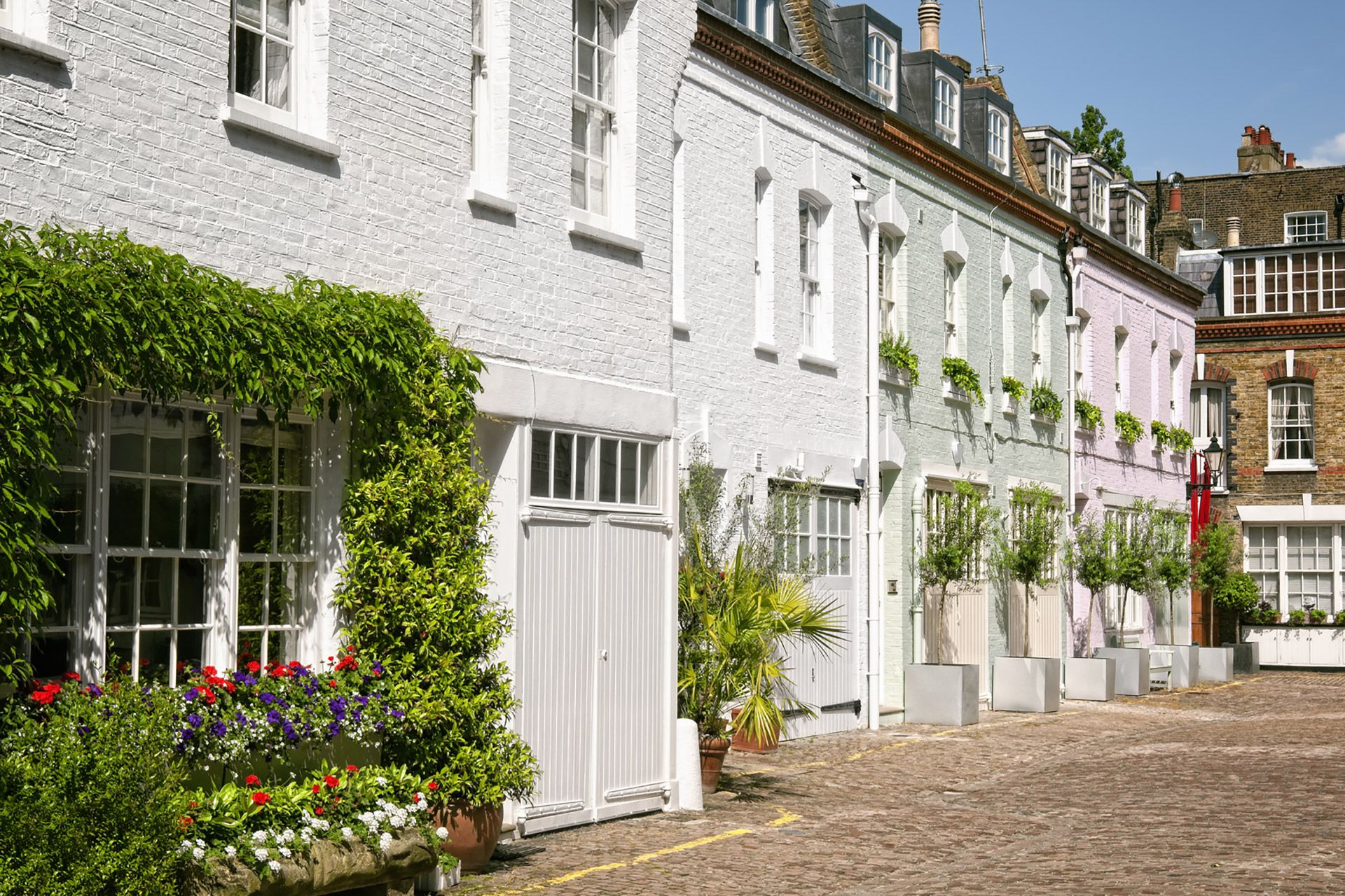 Notting Hill Mews exterior