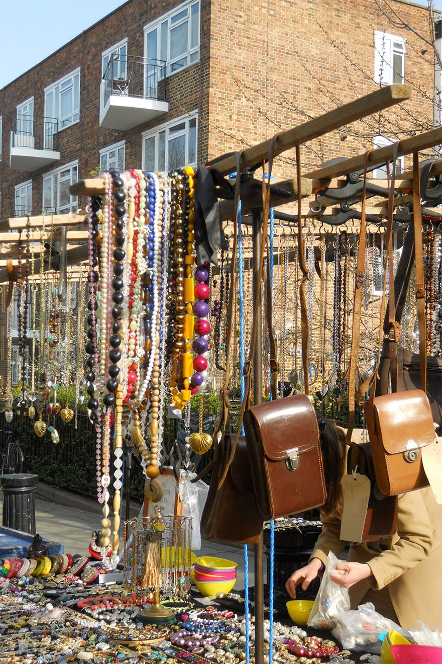 Treasures along Portobello Road