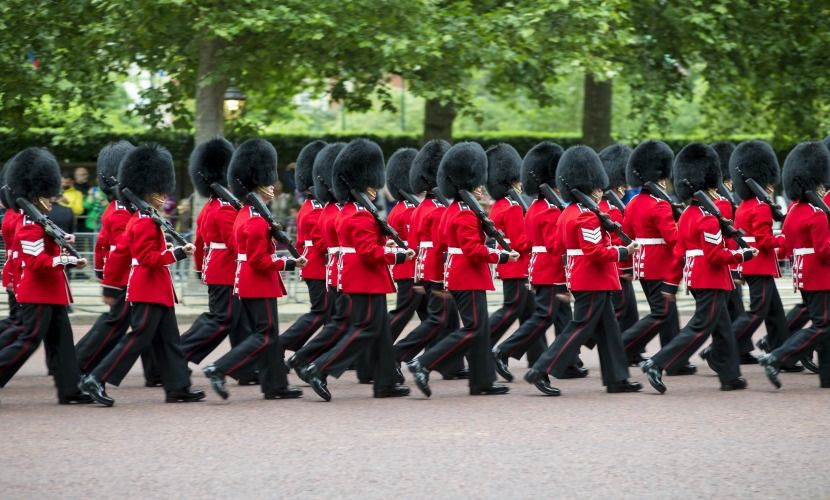 Trooping the Color ceremony in London