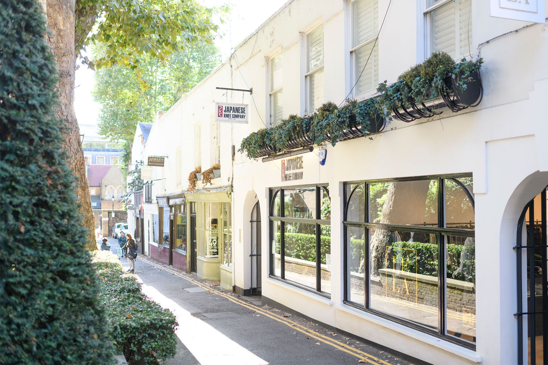 Boutique shops in Kensington London