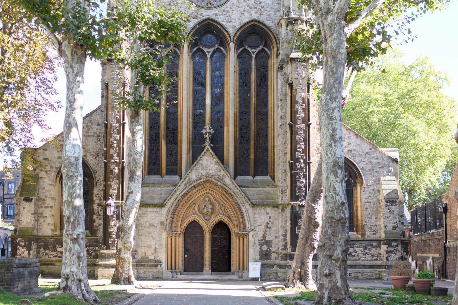 Stunning old church just around the corner from the Gordon rental