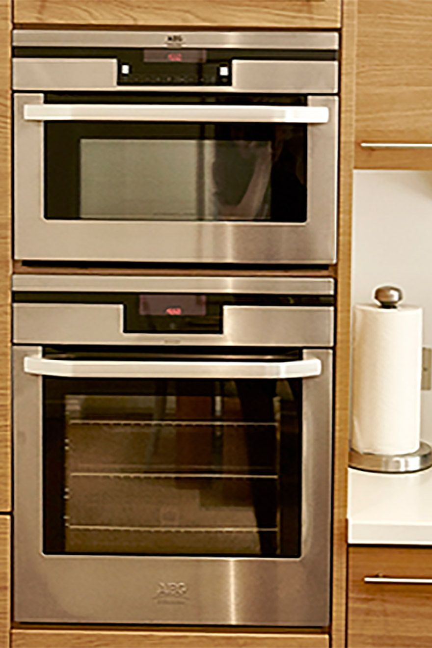 Stainless steel oven is the ideal appliances for cooking