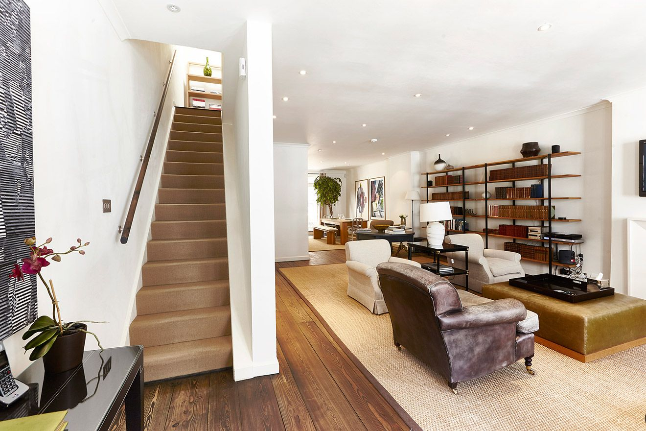 Two story mews home is fit for family and couples