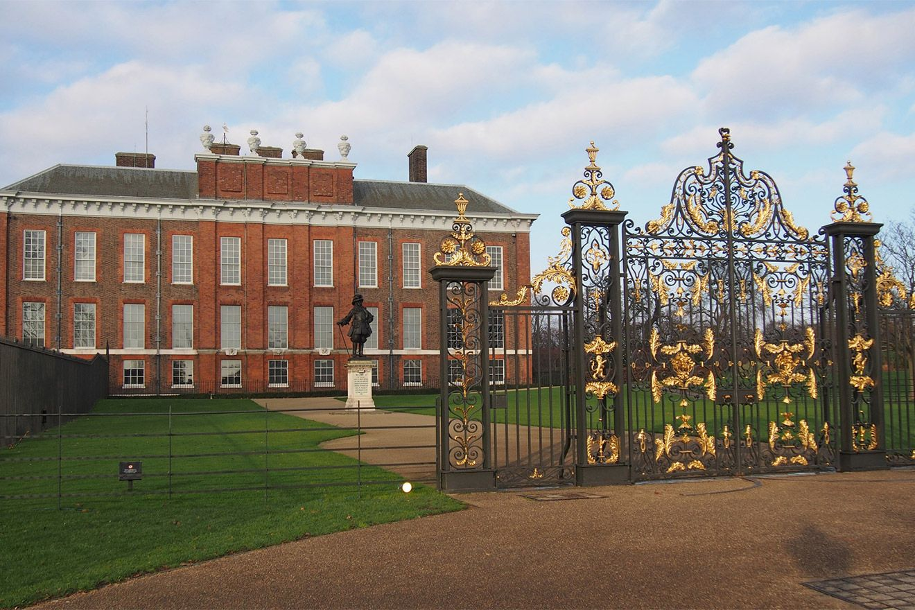 Visit Kensington Palace in nearby Kensington Gardens
