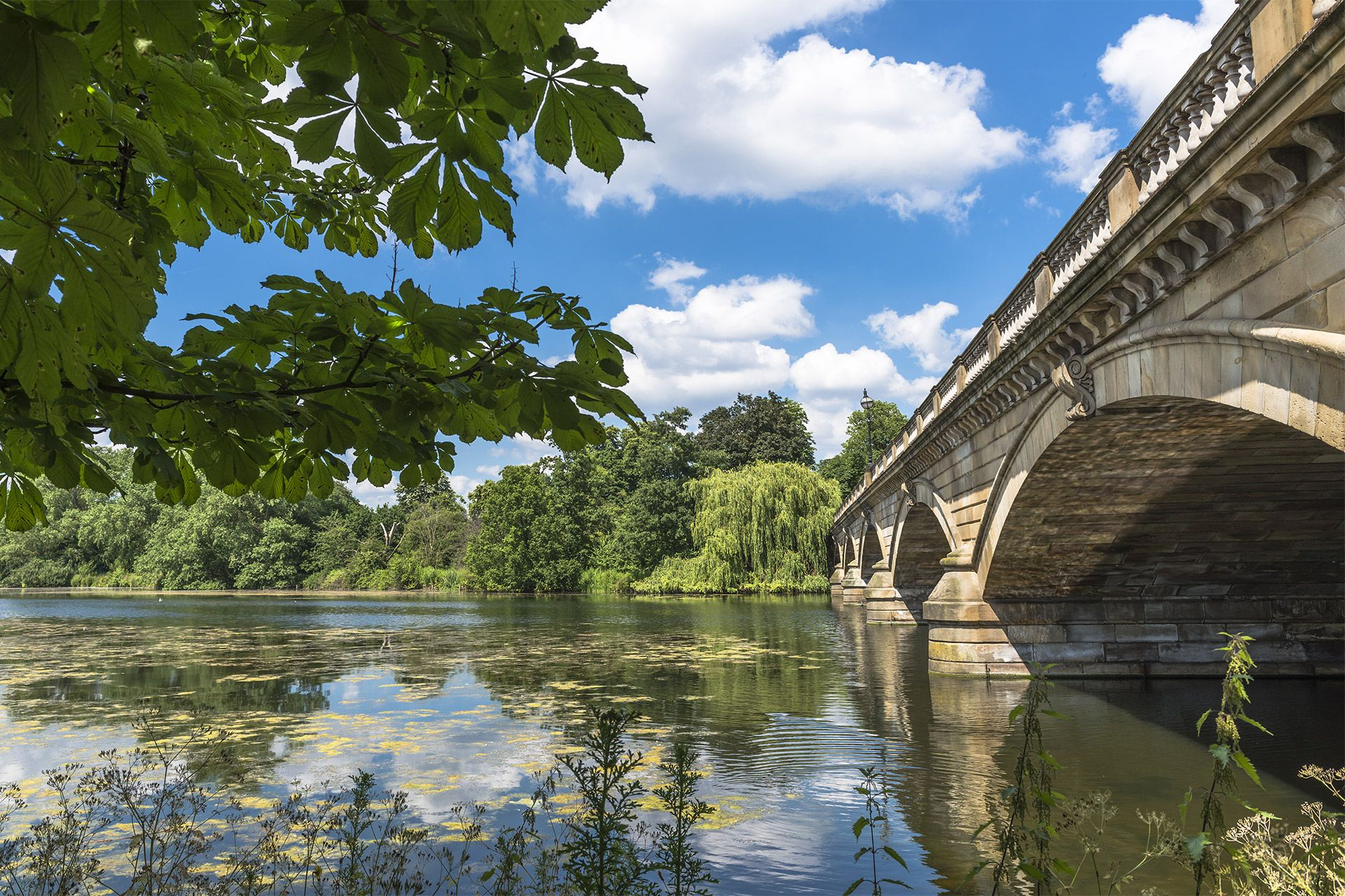 Serpentine Bridge at Hyde Park