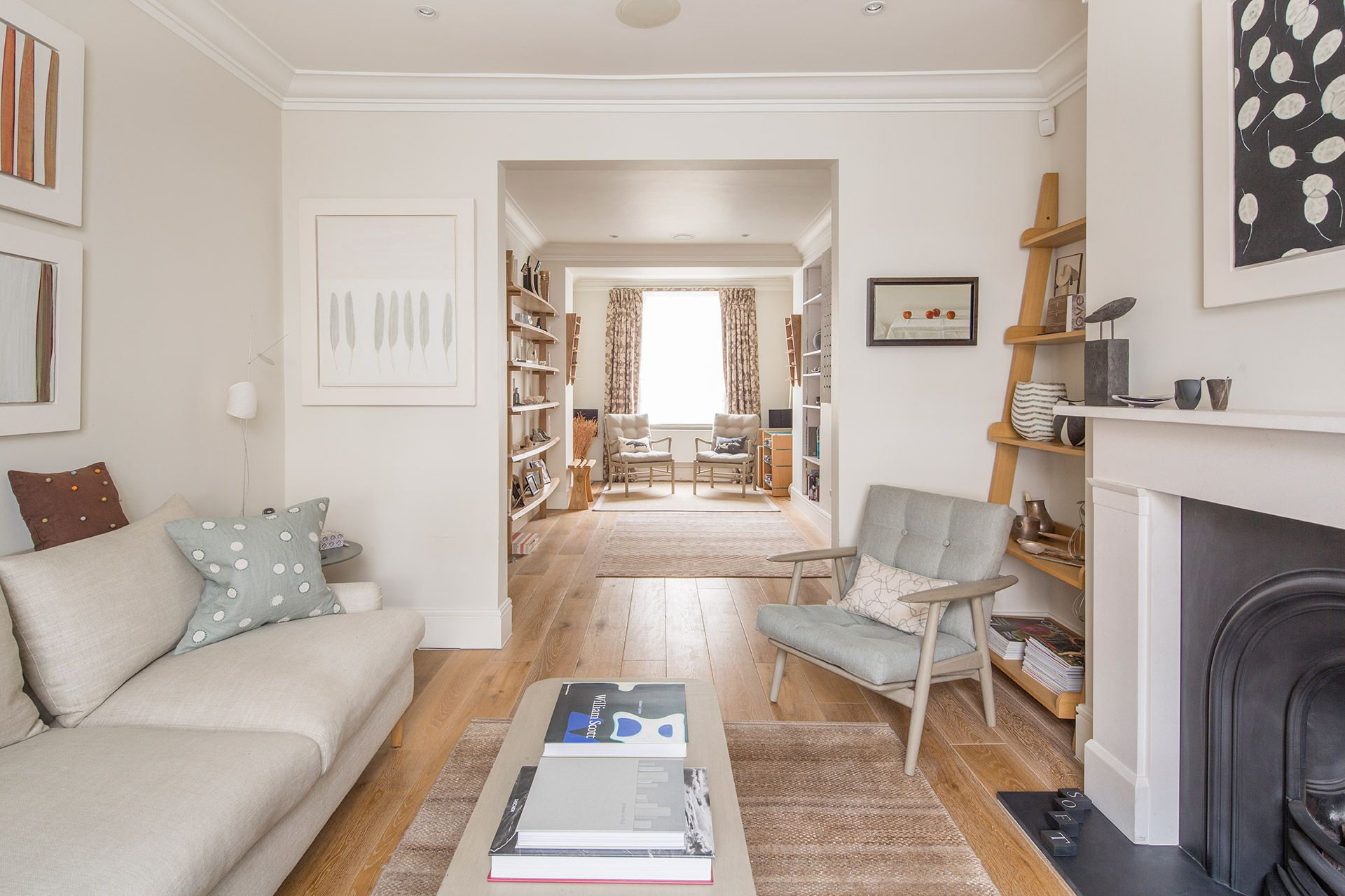 View towards the second living room of The Walton vacation rental offered by London Perfect
