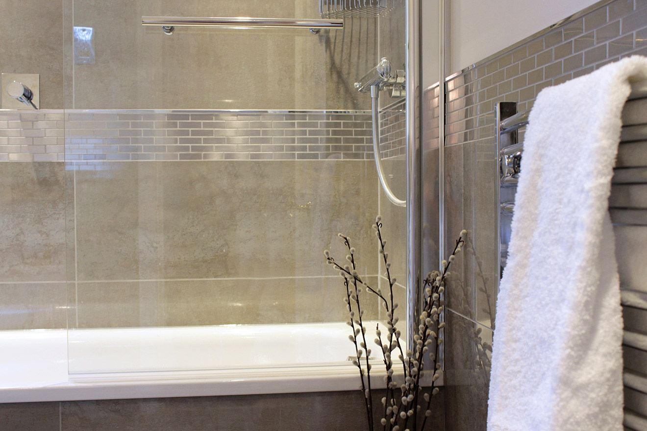 Modern bathroom in London Vacation Rental