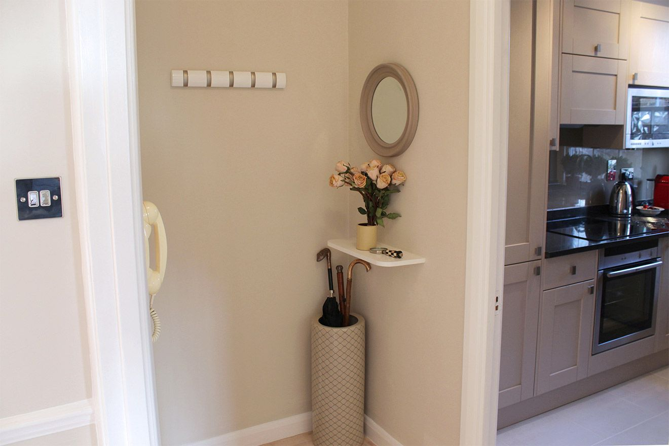Entryway of the Leicester vacation rental offered by London Perfect