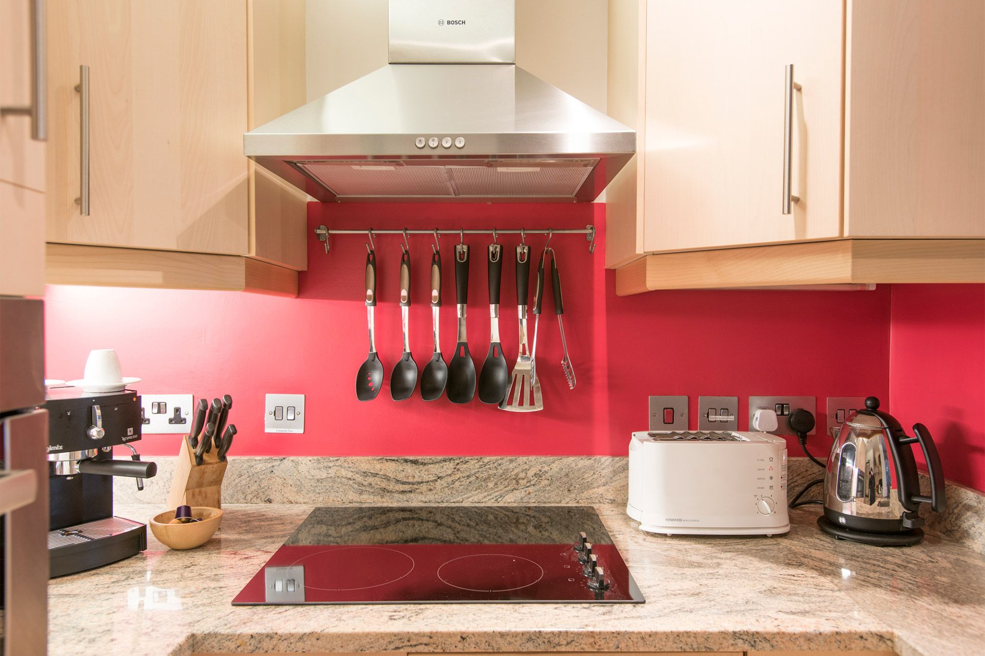 Fully equipped kitchen in our London vacation rental