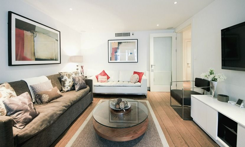Comfortable living room of the Gladstone vacation rental offered by London Perfect