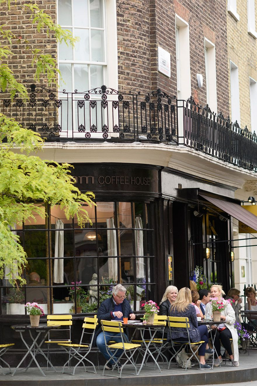 Outdoor Dining in Notting Hill London