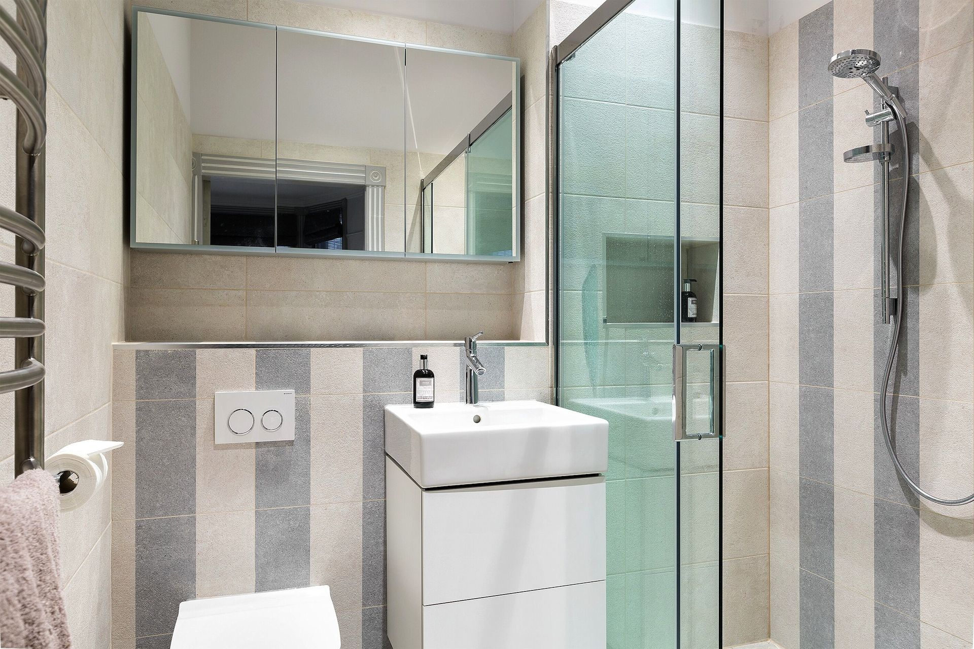 Private en suite in the Coleherne vacation rental offered by London Perfect