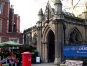 See St. Mary Abbots Church in Kensington
