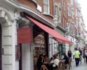 Great caf�s and restaurants in Chelsea