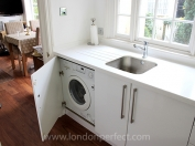 Combo washer and dryer - a great vacation rental feature!
