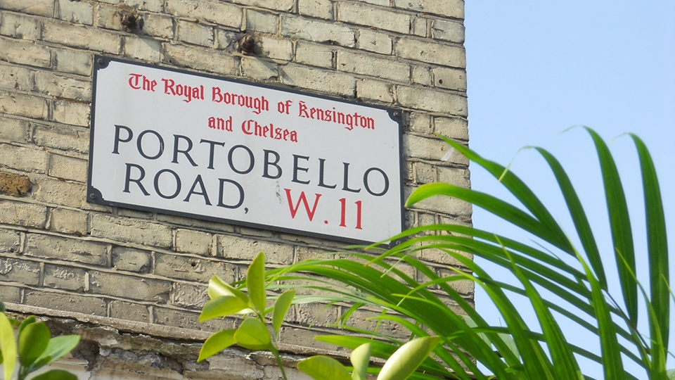portobello road market london guide. Black Bedroom Furniture Sets. Home Design Ideas