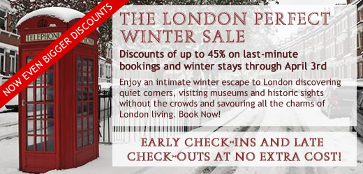 London Perfect Christmas Spirit Sale - Book Now for a Charming Winter Stay!