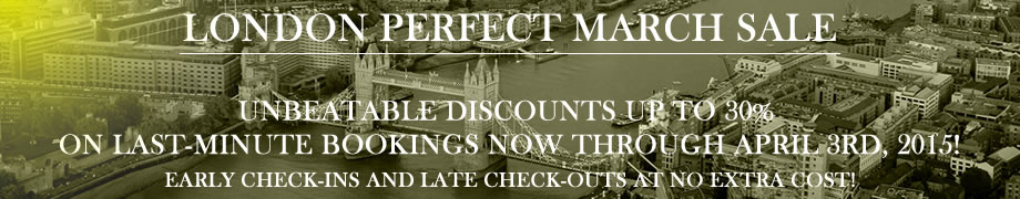 London Perfect March Sale